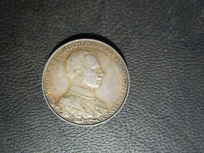 1913 A German States Prussia 2 Marks, Germany