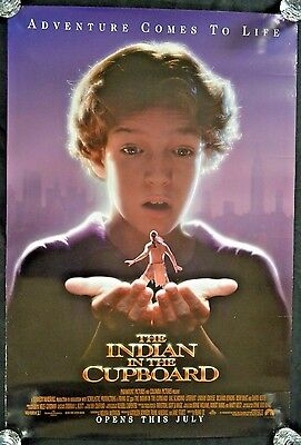 """Original 27 x 41"""" 1SH 1995 Indian in the Cupboard D/S Rolled Movie Poster B302"""