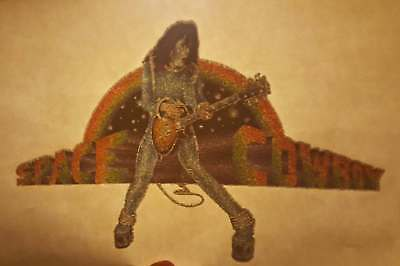 2 Vintage KISS - Ace Iron On Transfer Lot / Space Cowboy / KISS ARMY T-Shirt