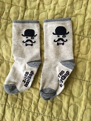 NEW one  pair of babyGab Toddler Boy Socks - Size 2-3 years