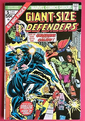 Giant-Size Defenders #5 (1975) Guardians of the Galaxy! Hulk! Higher grade!