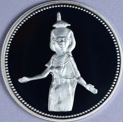 5 Pounds Proof Silver 1993,Egypt Ancient Treasures - Selket , KM# 743