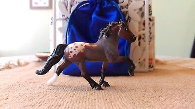 Breyer Fylkir Bay Roan Appaloosa 2017 Stablemate Collector's Club Horse