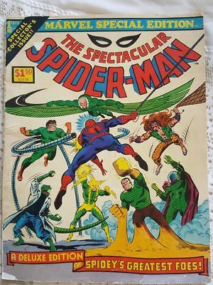 1975 Marvel Special Edition The Spectacular Spider-Man Deluxe Edition