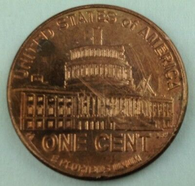 U.S. 2009 D Lincoln Capitol Years Bicentennial Penny One Cent Coin