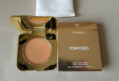 New Tom Ford Cream Cheek Colour Blusher 02 Pieno Sole