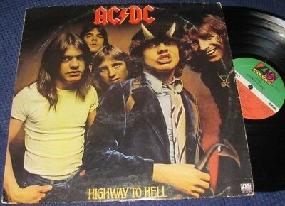 Rock lp~AC/DC~Highway To Hell~1979 Atlantic stereo~exc+