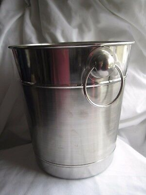 Stainless Steel Champagne Ice Bucket Cooler Wine Party