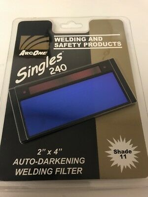 ArcOne S240-11 Shade 11 2-Inch by 4-1/4-Inch by .2-Inch Horizontal Single Filter