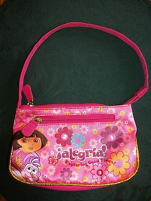 Dora The Explorer & Boots  Kids Purse PINK