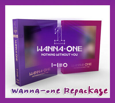 Wanna One 1st Repackage [1-1=0 Nothing without You] Album CD+Photocard+Hairband