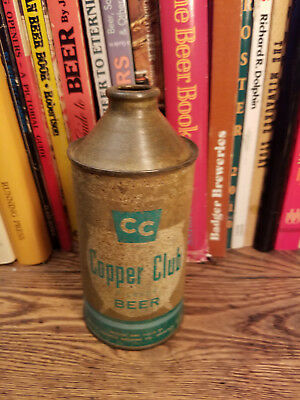 Copper Club Pilsner 12oz Cone Top Beer Can