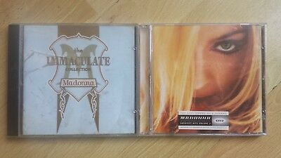MADONNA - The Immaculate Collection/.Greatest Hits Vol 2 (CD 1990/2001)