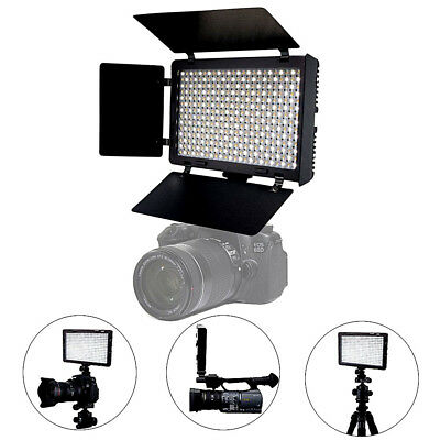 Mcoplus LED340B Bi-Color LED Light Panel Studio Camera Photo Video AC Power, USA