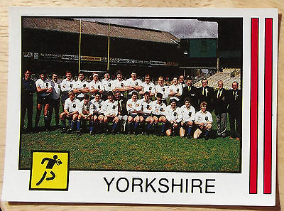Panini Supersport No 221 Rugby Union Yorkshire Rugby Union County Champions Vg
