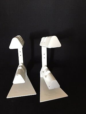 2 Oakley Sunglass Display Stands Double Tier Aluminum White