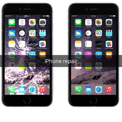 iPhone 5 5C 5S LCD REPAIR SERVICE Cracked or Broken Screen Replacement