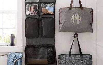 Thirty One Well Suited Garment Bag Hostess Exclusive In Mocha Crosshatch 31