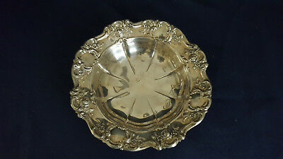 Towle Bon Bon Dish - Electroplated Plated  Silver - Old Master Pattern 1970's