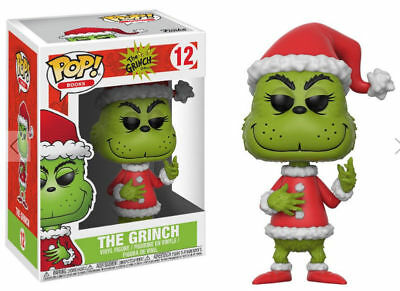 Funko Pop! Books 12 Dr. Seuss The Grinch Pop Vinyl Figures FU21745