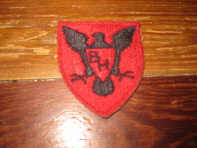 "ORIGINAL WW2 US ARMY 86TH INFANTRY ""BLACK HAWK"" DIVISION PATCH World War 2"