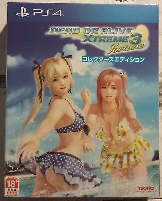Dead or Alive Xtreme 3 Fortune [Collector's Edition] English Subs - US Seller