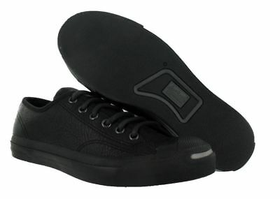Converse Jack Purcell OTR Leather Ox Casual Shoe Black (5)