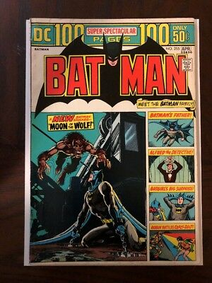 Batman #255. Neal Adams Cover. FN-VF. Beautiful Book.