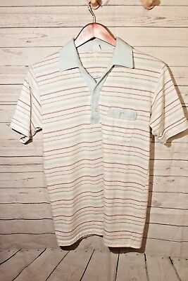 Vintage 60s Mens Hipster Cool Polo