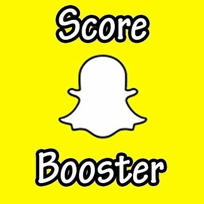 Snapchat Score Boost (+10,000) Fast And Reliable (YOUR ACCOUNT!)