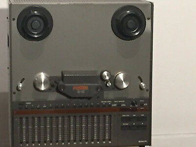 Fostex B-16 Reel to Reel Tape recorder power on  but needs repair Sold AS-IS