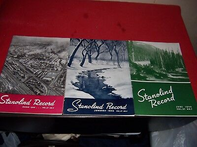 3 1946 Stanolind Record Standard Oil Company-Indiana Magazines