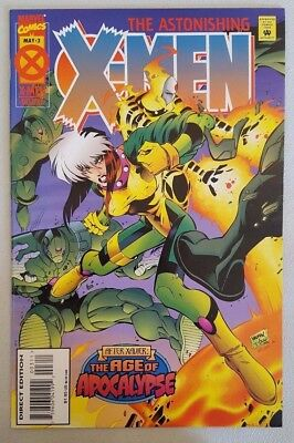 Astonishing X-Men #3 of 4 1995 Age of Apocalypse Marvel Comics VF