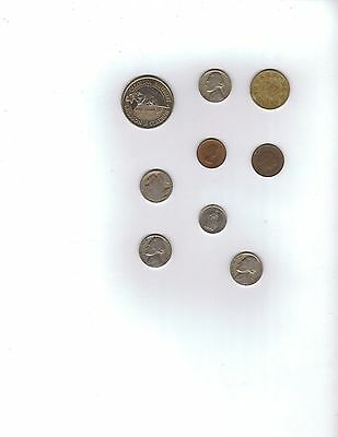 Coin Collection A few random coins I have. Buffalo Nickel Franc Krone