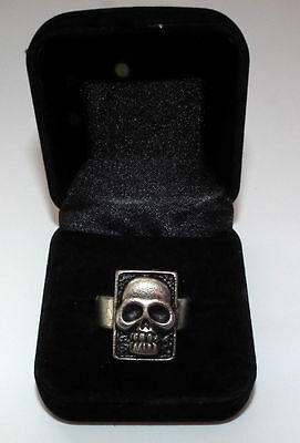 The Phantom Comic movie Skull Ring w/ gift box Collectable Frew