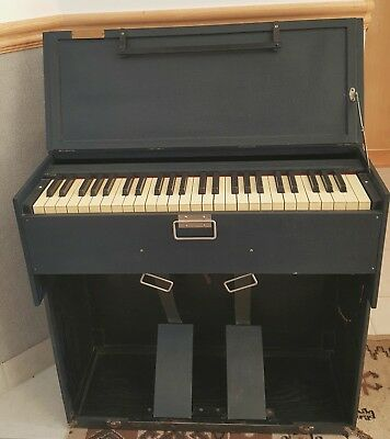 RARE! Portable Antique Pump Organ, A.L. White Co. Works Great!