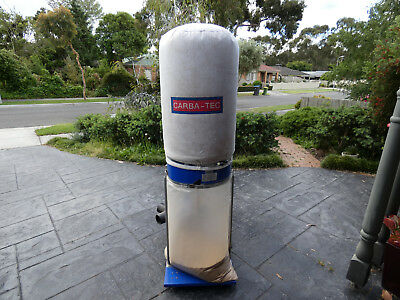 Carbatec 2HP Single Phase Dust Collector/Extractor