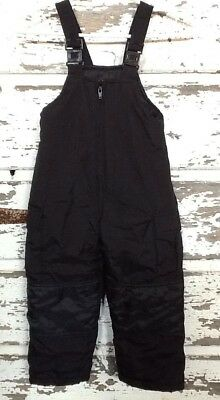 Weather Control Kids Child Snow Pants 4 Insulated Bib Overalls Adjustable Black