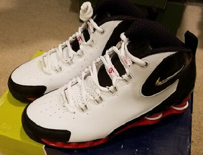 3908ad323b0ddd NEW Nike 2003 Shox VC III 3 White Vince Carter Model   307111 102 Men s Size