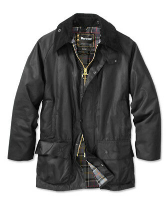 Barbour Men's  Beaufort Waxed Jacket 34
