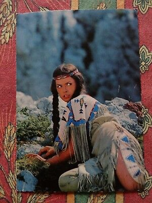 AK Karl May Winnetou 1. Teil E 33 Marie Versini