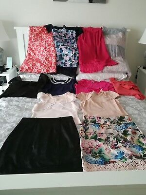 Womens clothing bulk lot Review brand size 10, 12 and 14