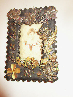 antique 130 years old picture frame victorian ormolu collectible