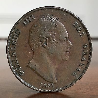 William IV, Penny, 1831.