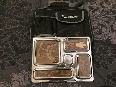 Planetbox Rover Stainless Steel Lunchbox + Accessories