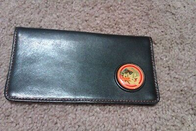 Warner Brothers, Bugs Bunny And Donald Duck Checkbook Cover, Leather