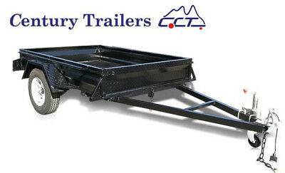 Brand New Fully Welded 8×5 Painted Box Trailer