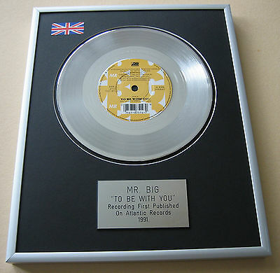 Mr. BIG To Be With You PLATINUM SINGLE DISC PRESENTATION
