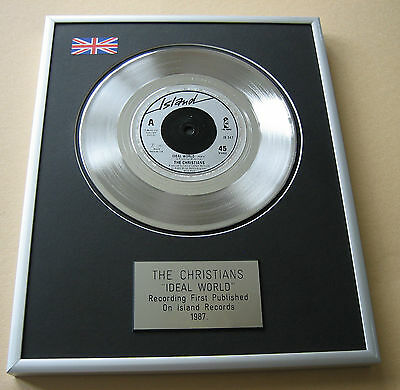 THE CHRISTIANS Ideal World PLATINUM SINGLE DISC PRESENTATION
