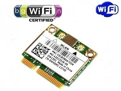 + Broadcom BCM94313HMG2L DW1501 Windows®10 802.11 b/g/n WLAN Mini PCI Express +